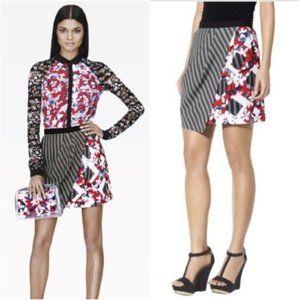PETER PILOTTO target skirt size 4 asymmetrical